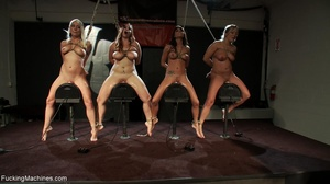 Four super hot bitches are into squirtin - XXX Dessert - Picture 17