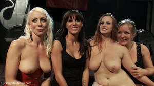 Four super hot bitches are into squirtin - XXX Dessert - Picture 18