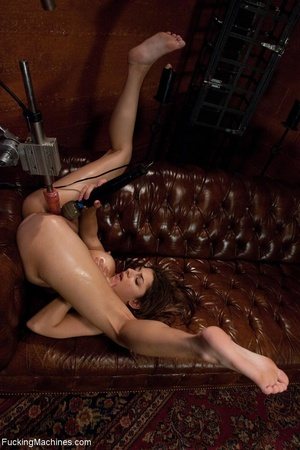 Long haired woman plays with her sex toy - XXX Dessert - Picture 15