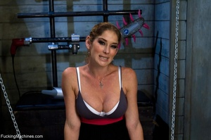 Oiled up bitch is ready to test all her  - XXX Dessert - Picture 1
