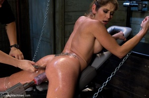 Oiled up bitch is ready to test all her  - XXX Dessert - Picture 7
