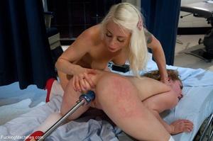Two blonde sluts in sexy stockings getti - XXX Dessert - Picture 15