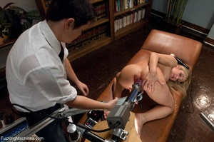 Blonde gal gets her tight holes drilled  - XXX Dessert - Picture 15