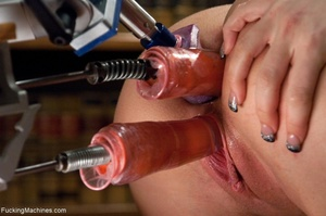 Blonde gal gets her tight holes drilled  - XXX Dessert - Picture 16
