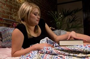 Two blonde lesbian sluts testing their f - XXX Dessert - Picture 2