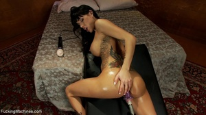 Busty babe with many tattoos getting her - XXX Dessert - Picture 9