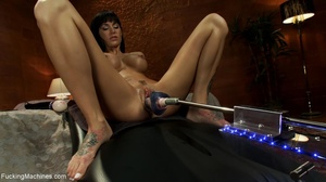 Busty babe with many tattoos getting her - XXX Dessert - Picture 11