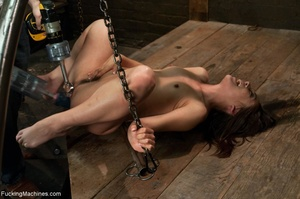 Dark haired gal with a trimmed cunt want - XXX Dessert - Picture 10