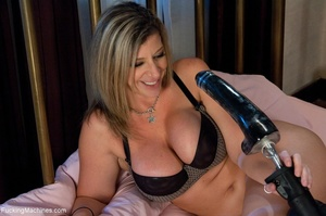 Busty blonde MILF is so passionate when  - XXX Dessert - Picture 1