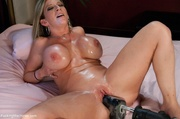 busty blonde milf passionate