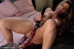Busty blonde MILF is so passionate when  - XXX Dessert - Picture 16