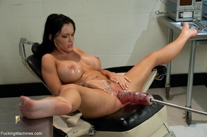 Tattooed brunette loves to squirt and to - XXX Dessert - Picture 13