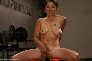 Sweet brunette loves squirting and reall - XXX Dessert - Picture 2