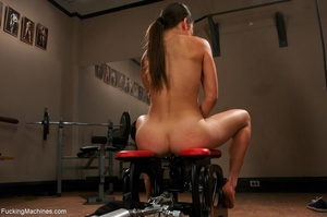 Sweet brunette loves squirting and reall - XXX Dessert - Picture 3