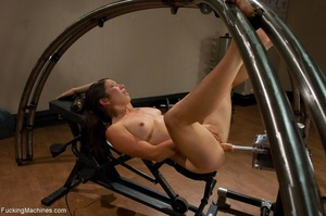 Sweet brunette loves squirting and reall - XXX Dessert - Picture 10