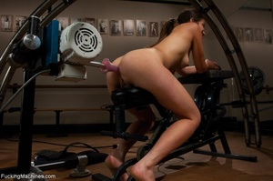 Sweet brunette loves squirting and reall - XXX Dessert - Picture 11