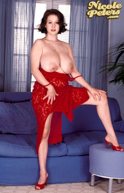 horny busty chick red