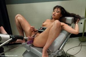 Brunette hottie squirts like a slut and  - XXX Dessert - Picture 16