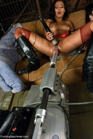 Two mean lesbian bitches having fun with - XXX Dessert - Picture 17