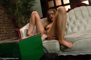 Cute blondie with a trimmed cunt drilled - XXX Dessert - Picture 9