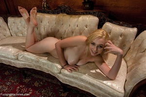 Blonde darling spreads her legs and gets - XXX Dessert - Picture 18