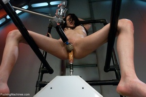 Long legged brunette gal in red shoes dr - XXX Dessert - Picture 4