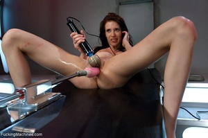Long legged brunette gal in red shoes dr - XXX Dessert - Picture 12