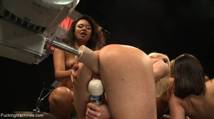These four horny sluts getting drilled w - XXX Dessert - Picture 5