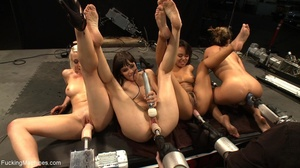 These four horny sluts getting drilled w - XXX Dessert - Picture 13