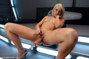 Sweet looking blonde babe gets her tight - XXX Dessert - Picture 5