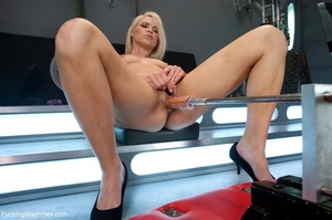 Sweet looking blonde babe gets her tight - XXX Dessert - Picture 6