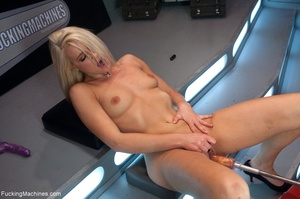 Sweet looking blonde babe gets her tight - XXX Dessert - Picture 8