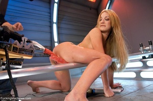 Long haired blonde gets her butt rammed  - XXX Dessert - Picture 7