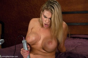 Blonde bitch with perky titties gets a d - XXX Dessert - Picture 3