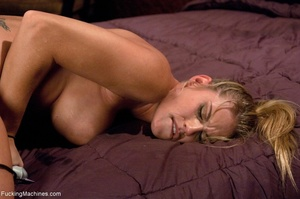 Blonde bitch with perky titties gets a d - XXX Dessert - Picture 9