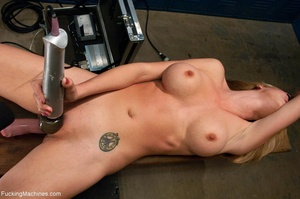 Blonde gal with big titties gets nasty i - XXX Dessert - Picture 17