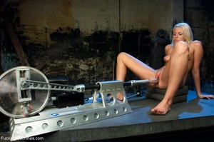 Blondie rides a sybian and gets rammed b - XXX Dessert - Picture 8