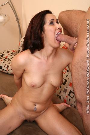 Brunette chick satisfy her man with her  - XXX Dessert - Picture 14