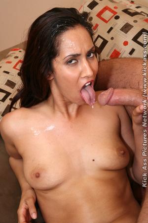 Brunette chick satisfy her man with her  - XXX Dessert - Picture 16