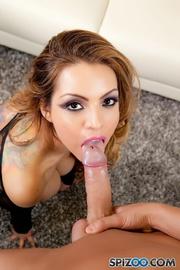 sexy tattooed glamorous latina
