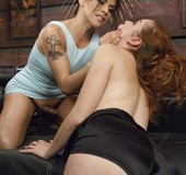 Redhead doesn't know what she has gotten herself into when hooking up
