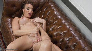 Sophisticated chick with a dick and her  - XXX Dessert - Picture 17