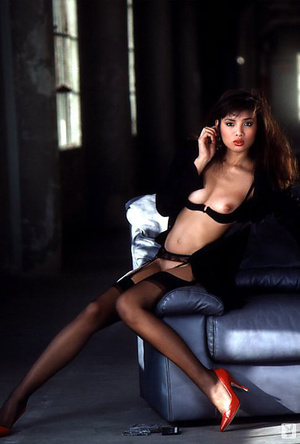 Glamorous brunette woman is eager to sho - XXX Dessert - Picture 11