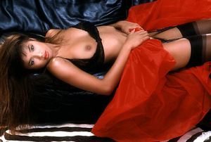 Glamorous brunette woman is eager to sho - XXX Dessert - Picture 12
