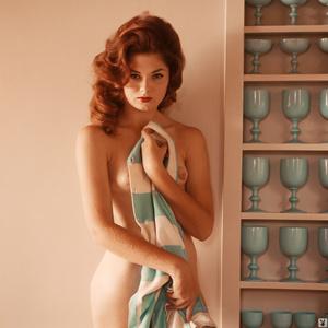 Redhead Playboy model showing her gorgeo - XXX Dessert - Picture 2