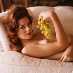 Redhead Playboy model showing her gorgeo - XXX Dessert - Picture 4