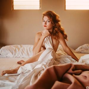 Redhead Playboy model showing her gorgeo - XXX Dessert - Picture 7
