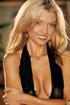 glamorous blonde gal bares