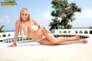 slim shapely blonde white