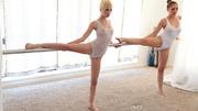 these petite ballerinas are